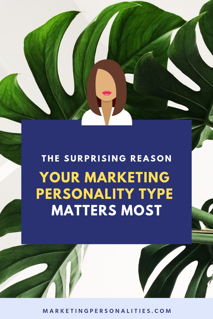 The surprising reason your marketing personality type matters most when creating your marketing strategy, blog post from marketingpersonalities.com