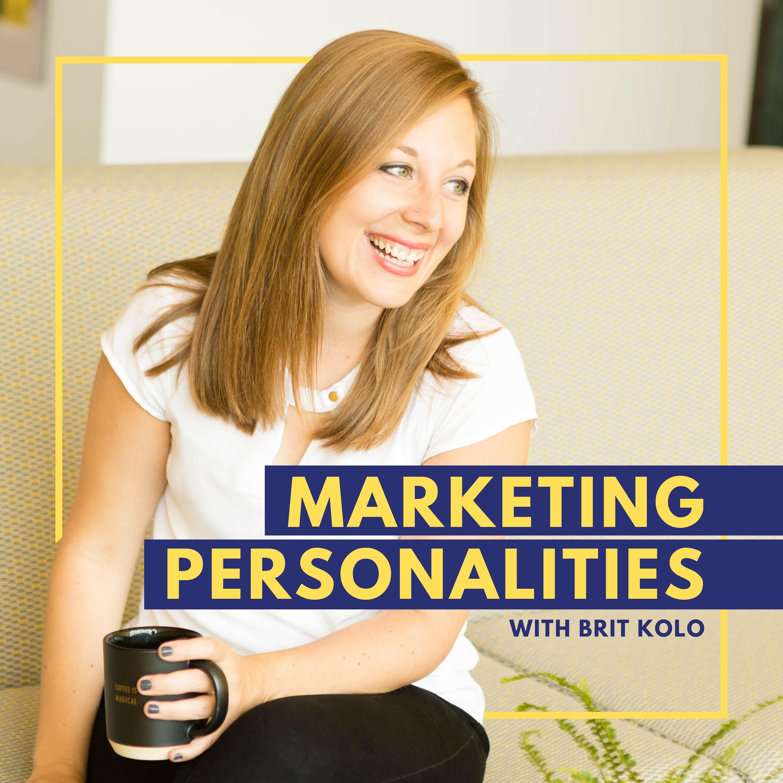 Marketing Personalities Logo Graphic