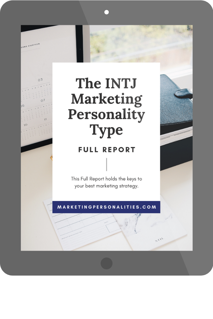 intj marketing personality type full report buy now