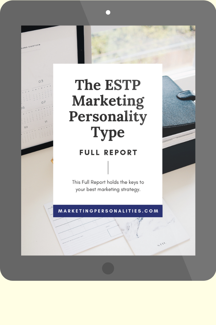 ESTP marketing personality type full report