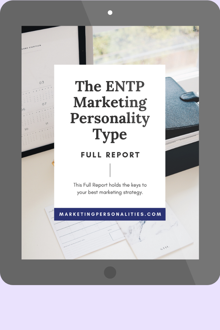 ENTP marketing personality type full report