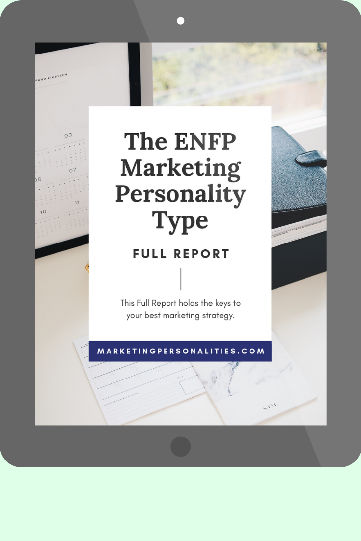 ENFP marketing personality type full report