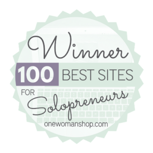 100 best sites for solopreneurs by one woman shop
