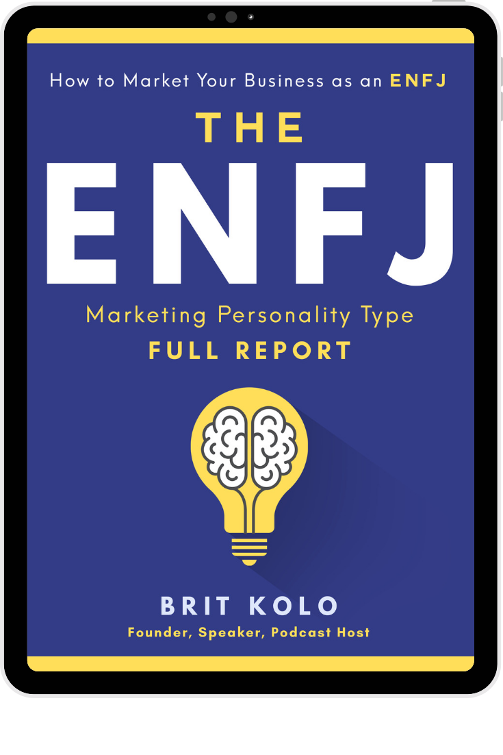 ENFJ Marketing Personality Type Full Report