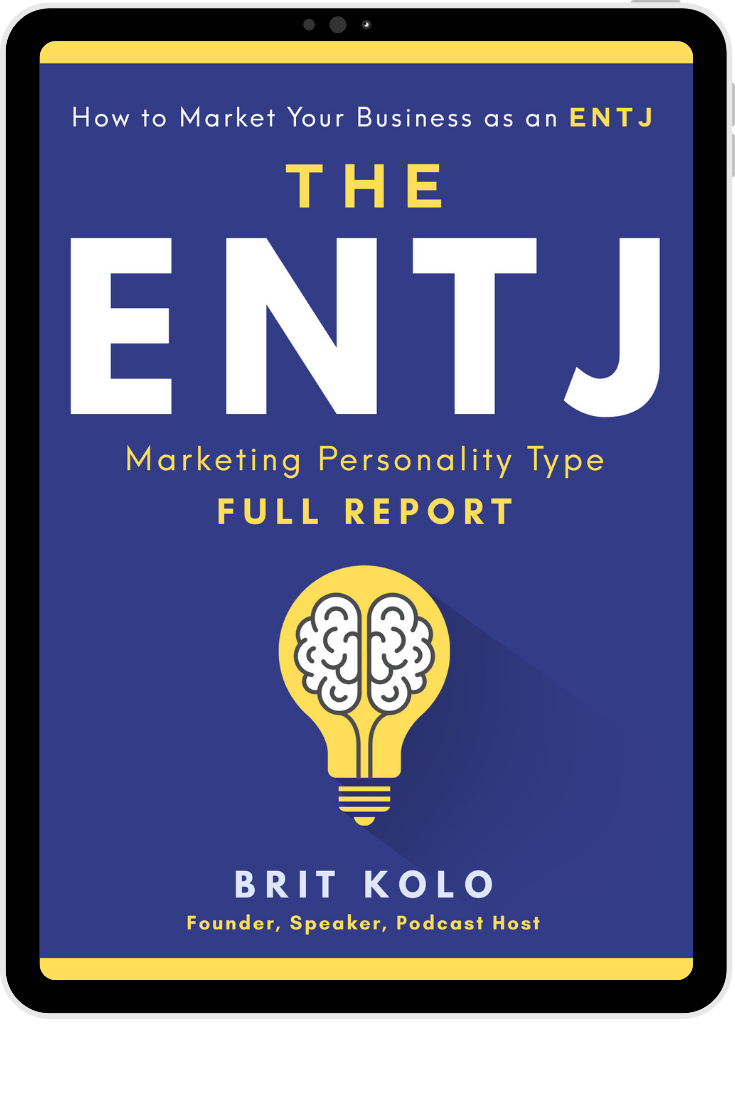ENTJ Marketing Personality Type Full Report