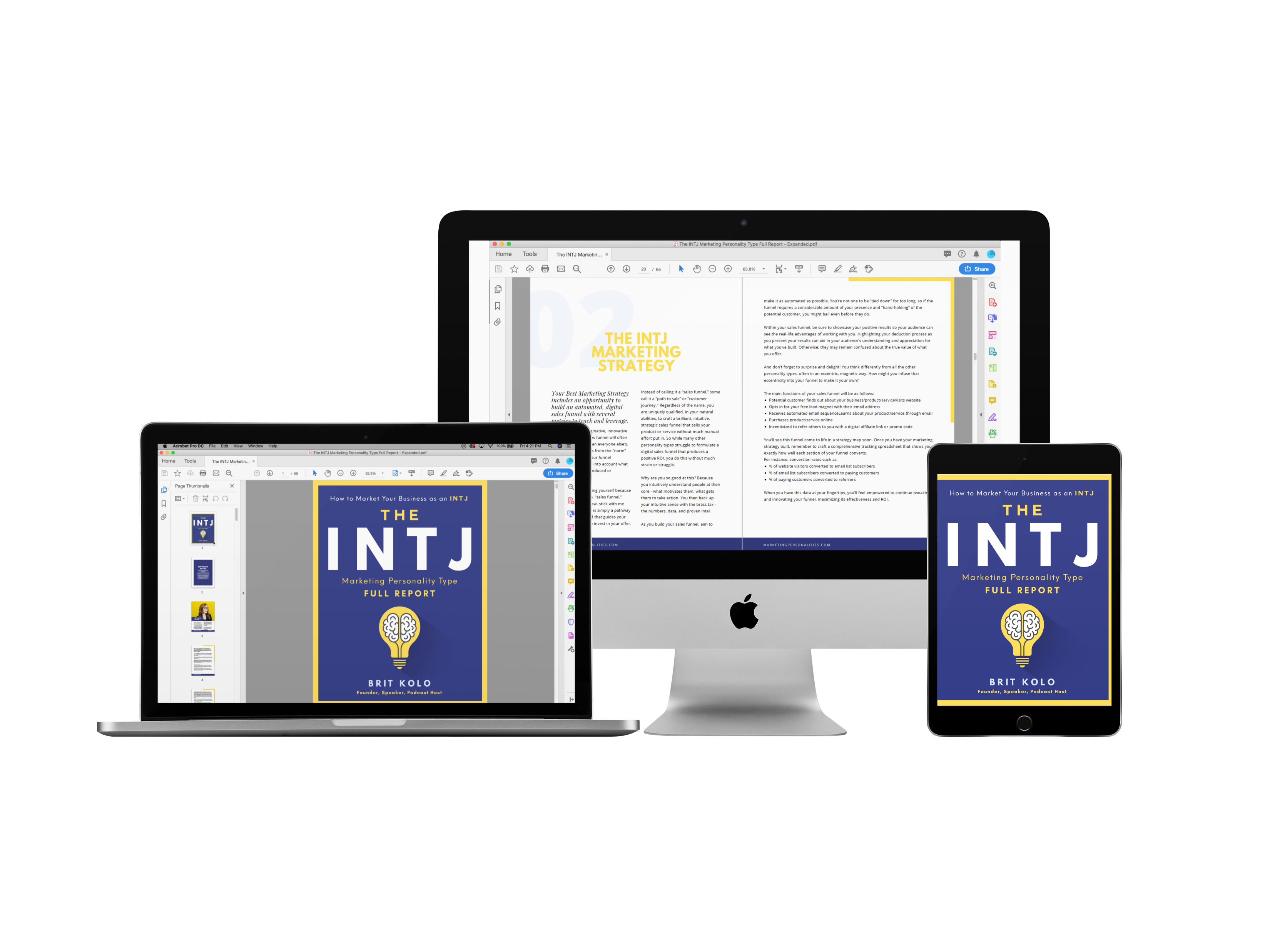 INTJ Marketing Personality Type Full Report Product
