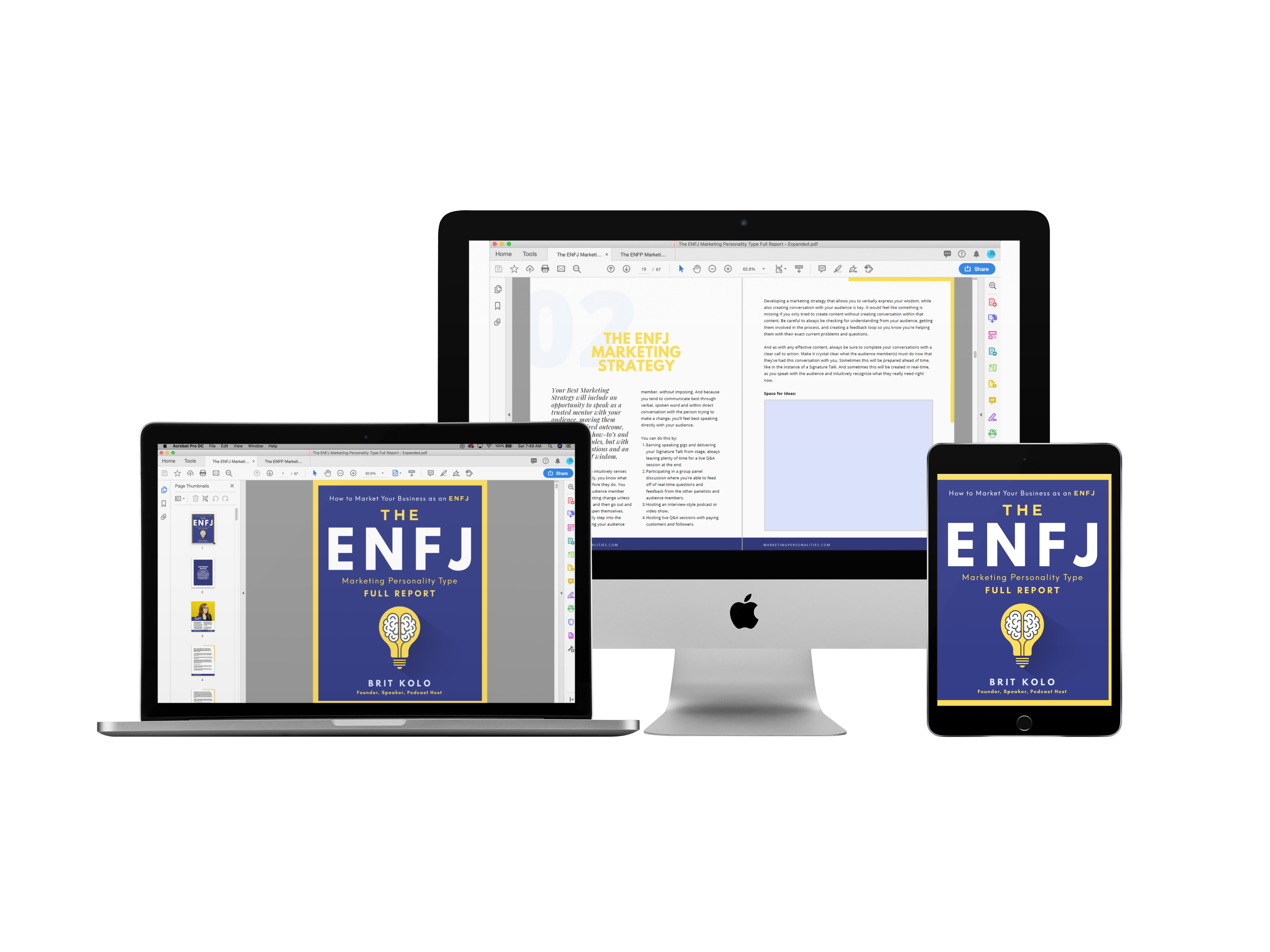 ENFJ Marketing Personality Type Full Report Product